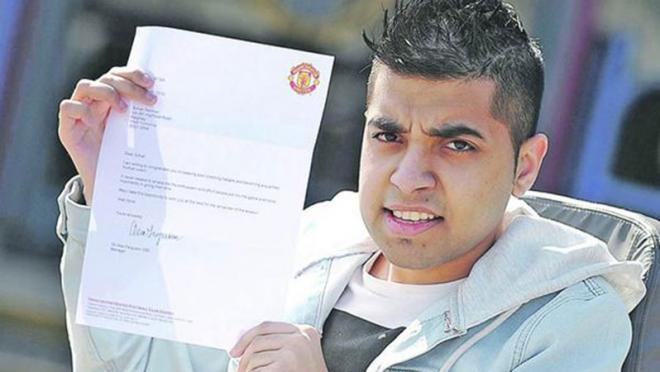 Manchester United hire wheelchair-bound coach Sohail Rehmen