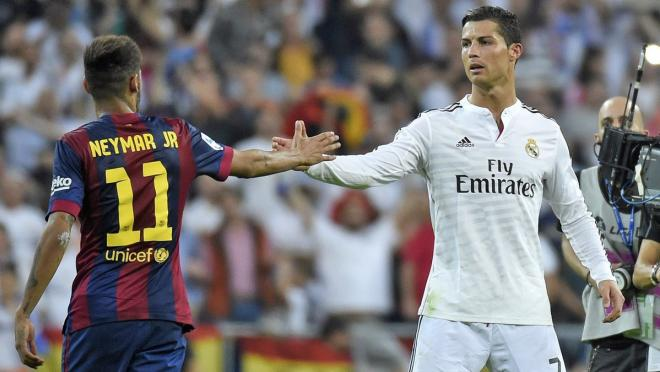 You can have Neymar and Ronaldo's autographs...for a price.
