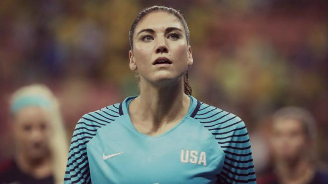 Hope Solo has been suspended for six months.