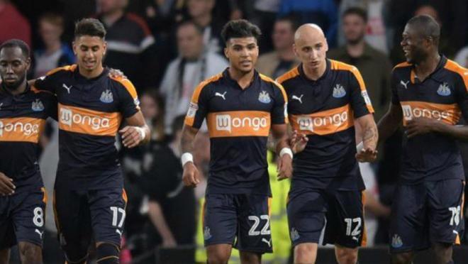 DeAndre Yedlin scored his first goal for Newcastle United.