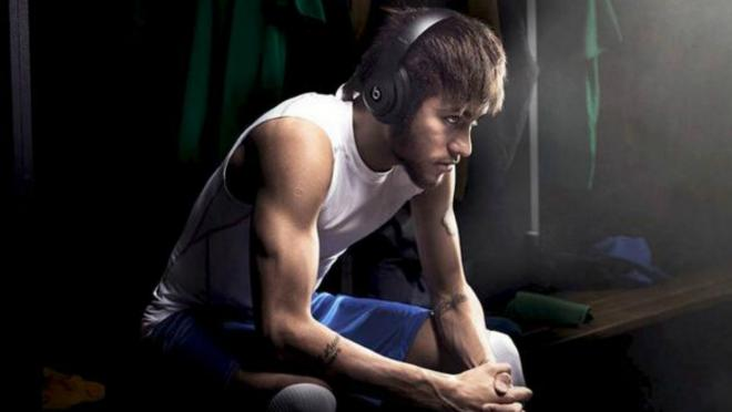 Neymar's music career is about to begin.