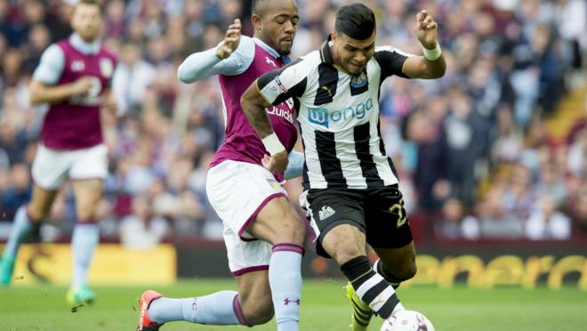 DeAndre Yedlin versus Aston Villa