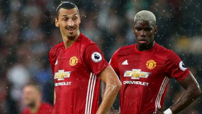 Zlatan and Pogba