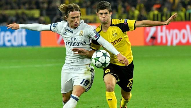 Christian Pulisic vs. Real Madrid