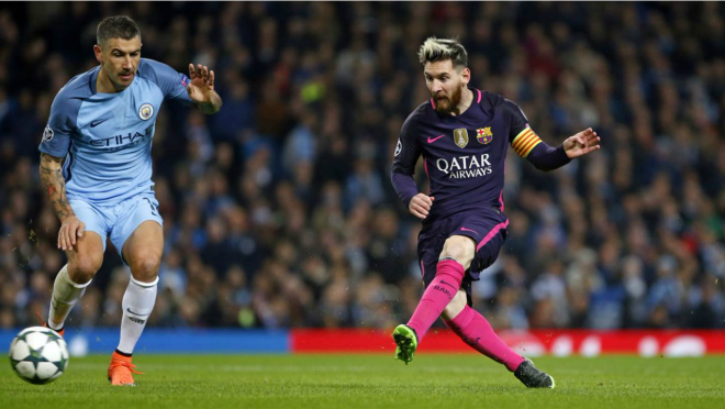 Manchester City defeat Barcelona 3-1