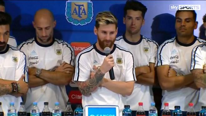Lionel Messi and Argentina will boycott the press.