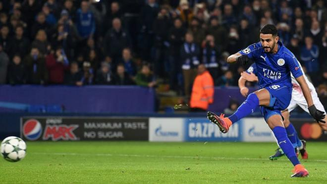 Leicester City win their Champions League group