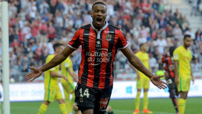 Nice are topping France's Ligue 1 thanks to Alassane Plea.
