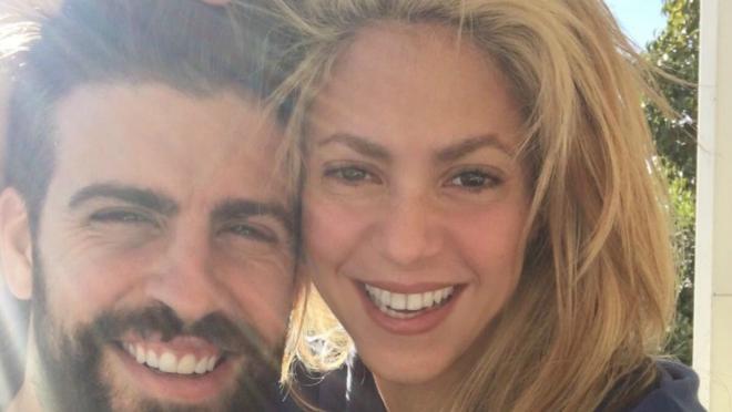 Shakira enjoyed herself at El Clasico.