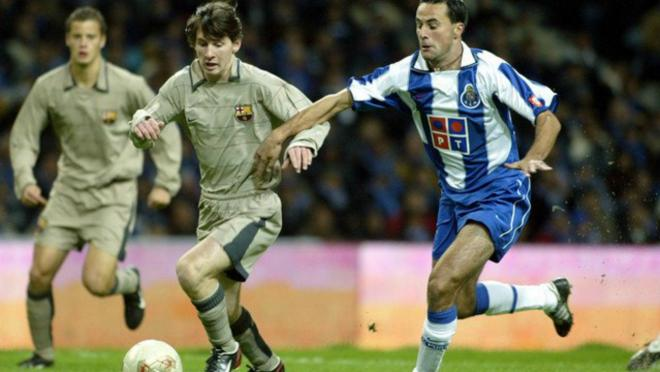 Oriol Riera speaks about his debut alongside Lionel Messi.