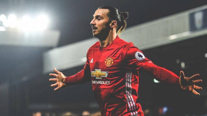 Zlatan Ibrahimovic scored a brace against West Brom