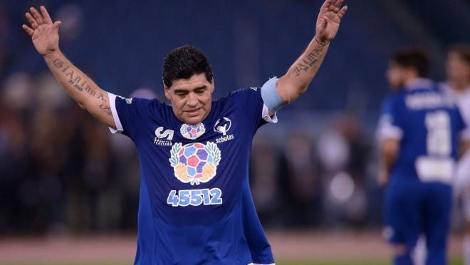 Maradona could play again