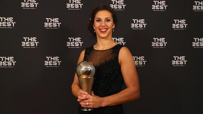 Carli Lloyd Wins FIFA Player of the Year