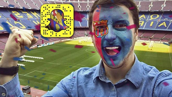 FC Barcelona Snapchat Lense