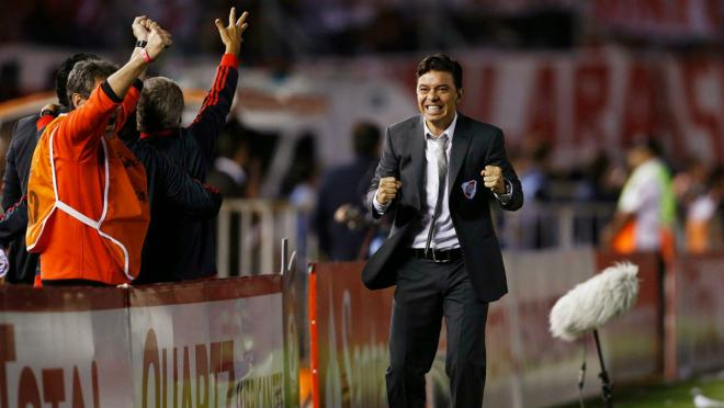 Marcelo Gallardo, manager of River Plate