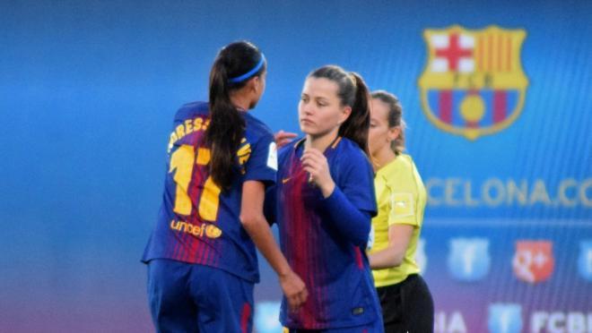 Claudia Pina Barcelona Women's Team