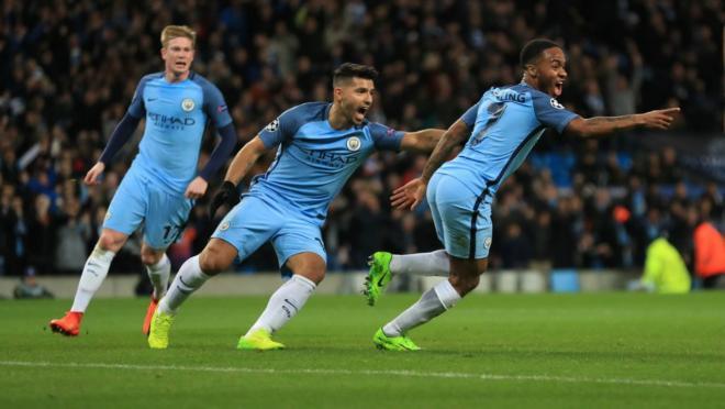 Manchester City defeat Monaco 5-3