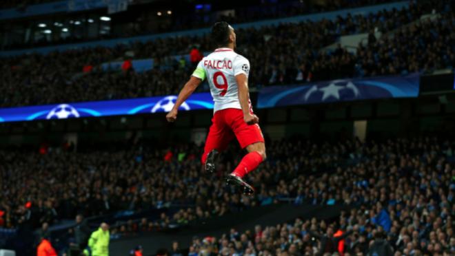 Radamel Falcao goal vs Manchester City