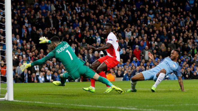 Raheem Sterling's goal vs Monaco