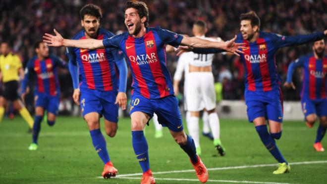 Sergi Roberto Goal vs PSG