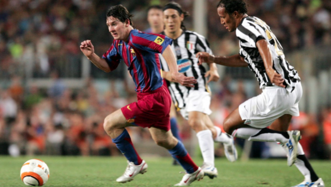 Lionel Messi vs Juventus