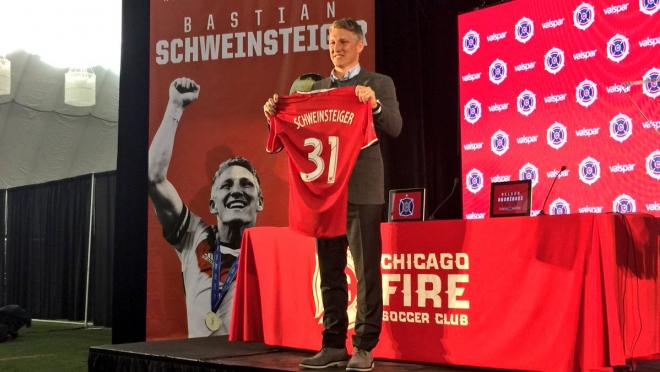 Bastian Schweinsteiger Set to Make his MLS Debut