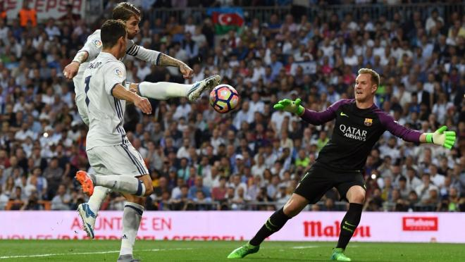 Ter Stegen makes 12 saves in Sunday's El Clasico