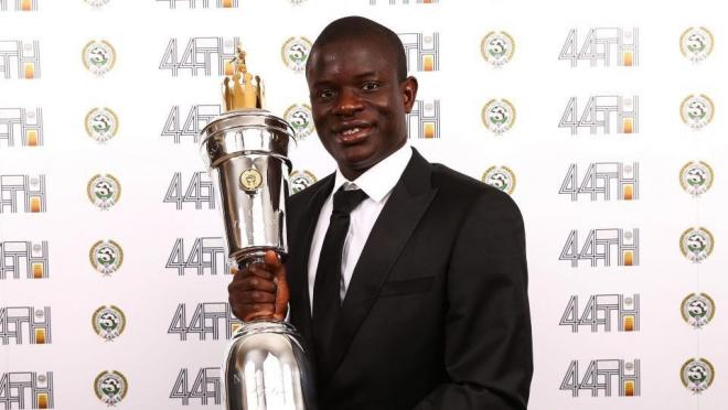 N'Golo Kante Wins PFA