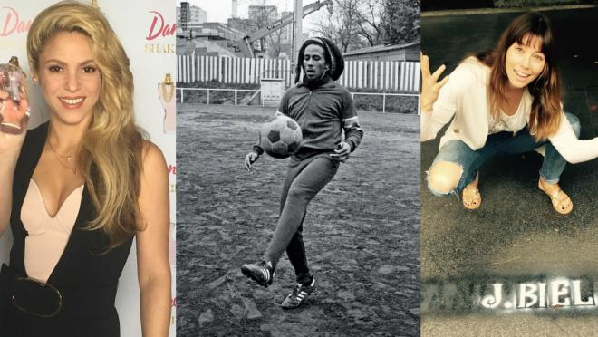 These celebrities would make up a strong soccer team.