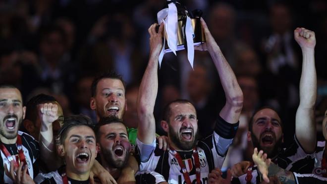 Juventus crowned Coppa Italia champions
