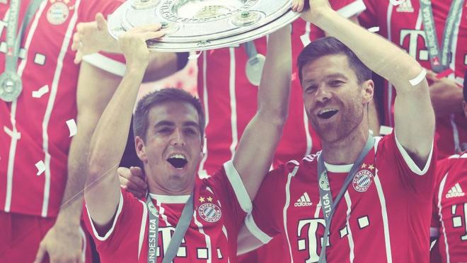 Xabi Alonso and Philipp Lahm went out on top