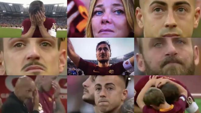 Francesco Totti's final game
