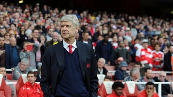Wenger signed an extension to stay at Arsenal for another two seasons