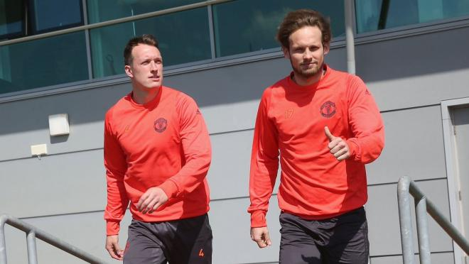 Phil Jones and Daley Blind
