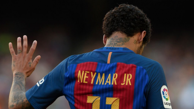 Neymar emotional farewell to Barcelona