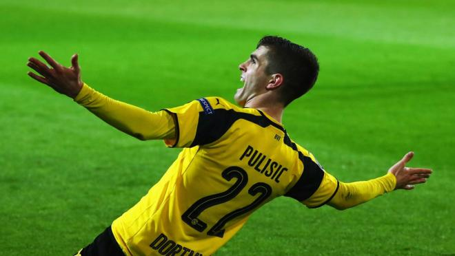 Christian Pulisic Goal Celebration