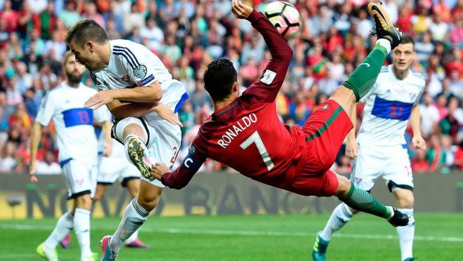 Cristiano Ronaldo goal