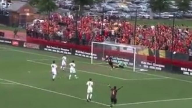 Hofstra own goal