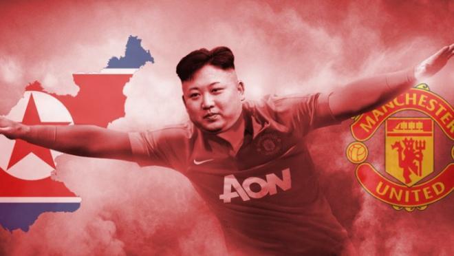 Kim Jong-un Manchester United