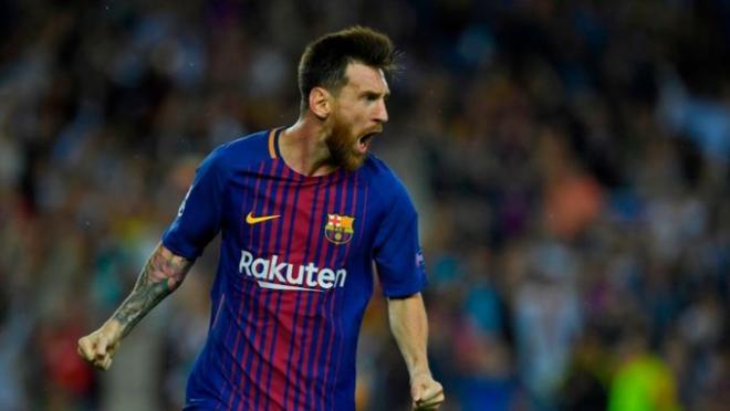 Lionel Messi brace vs. Juventus