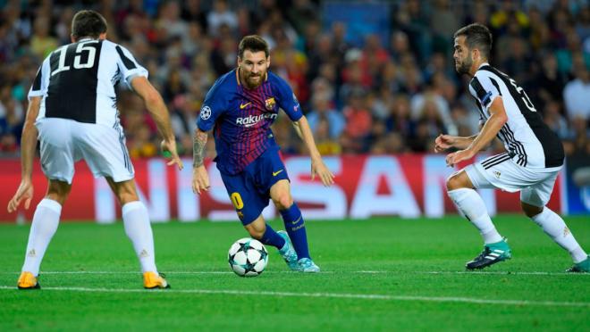 Lionel Messi goal vs Juventus, Gianluigi Buffon