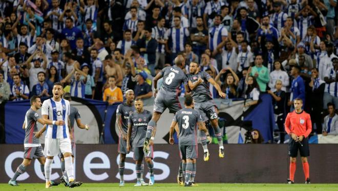 Cenk Tosun Champions League Goal