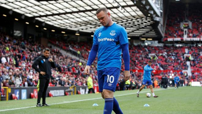 Wayne Rooney Manchester Return