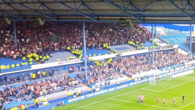 Steel City Derby fans