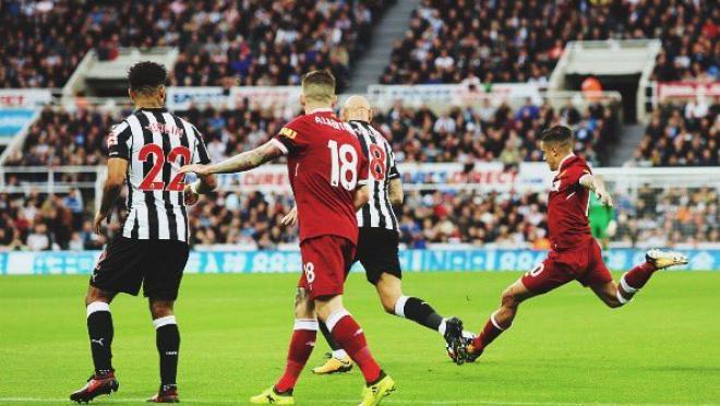 Philippe Coutinho goal Newcastle United