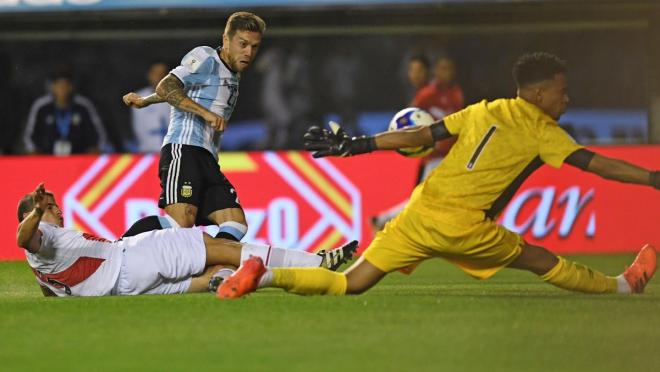 Gallese vs Argentina