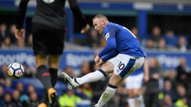 Wayne Rooney goal Arsenal