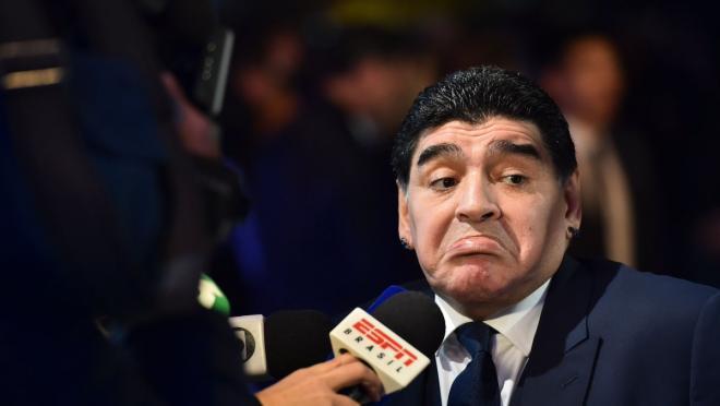 Maradona FIFA award