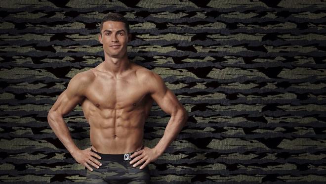 Cristiano Ronaldo camo underwear
