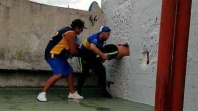 Boca Juniors fan
